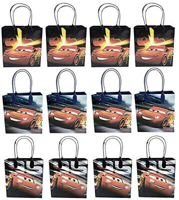 Disney Cars Birthday Party (12 Pc Disney Cars Mcqueen Movie Birthday Party Favor Goody Gift candy loot)