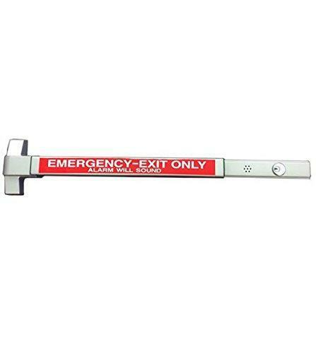 """Commercial Door Push Bar Exit Device, Panic BAR with """"Alarm"""""""