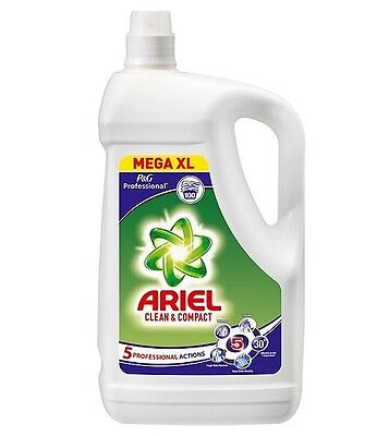 Ariel Laundry Washing Liquid Regular Actilift 100 Washes Stain Remover 5 Litre
