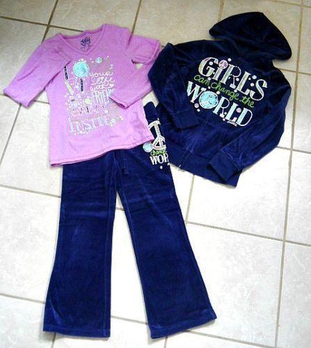 Justice 7 8 girls 39 clothing sizes 4 up ebay for Girls shirts size 8