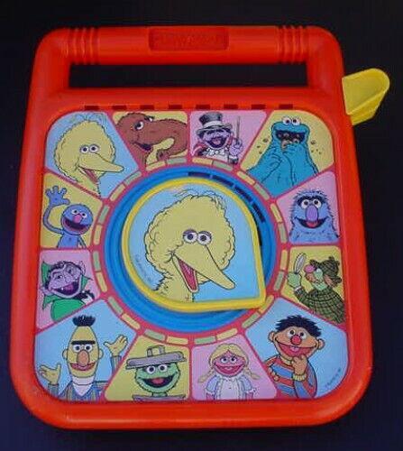 1989 Playskool Sesame Street See N Say Big Bird Talking Mumford Herry Snuffy mor