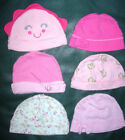 Carter's Girls 0-6 Months Baby Hats