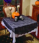 Lace Halloween Round Tablecloths