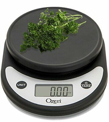 Best Digital Multifunction Kitchen Food Scale ZK14-AB Pronto Silver On Black