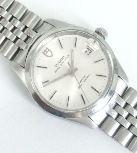 Rolex tudor oysterdate wristwatches ebay for Tudor geneve watches