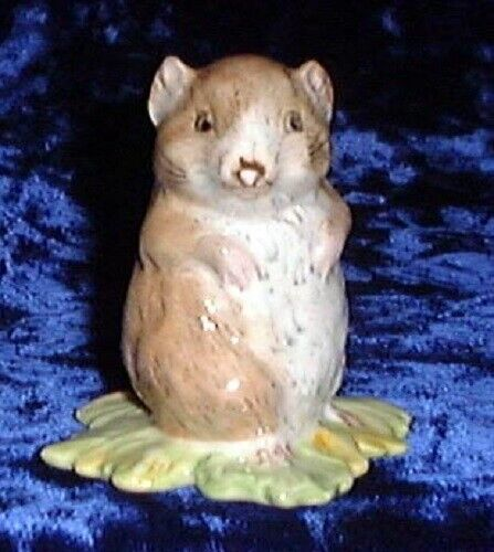 Beswick Beatrix Potter figurine Timmy Willie BP2 gold oval
