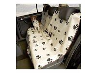 Waterproof pet seat cover for car