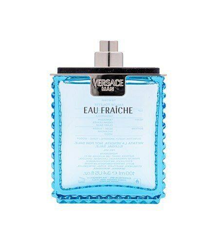 Versace Man Eau Fraiche by Gianni Versace 3.4 oz EDT Cologne for Men New Tester