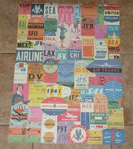 Airline Bag Tag Ebay
