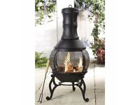 NEW Cast Iron Chiminea/Fire Pit
