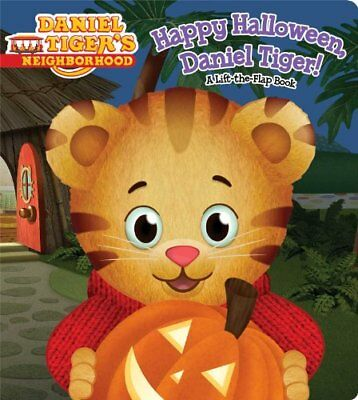n, Daniel Tiger!: A Lift-the-Flap Book (Happy Halloween Tiger)