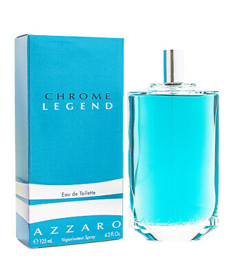 Chrome Legend by Azzaro Cologne for Men 4.2 oz New In Box