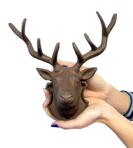 Moose Head Metal Decor