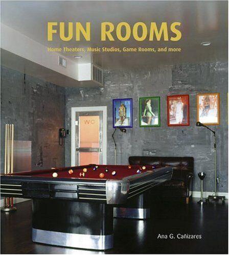 NEW BOOK Fun Rooms - Ana G. Canizares