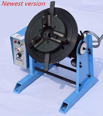 115rpm 30kg Duty Welding Positioner Turntable Timing 200mm Chuck 220v110v