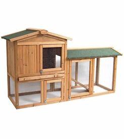 Brand new outside pet hutch