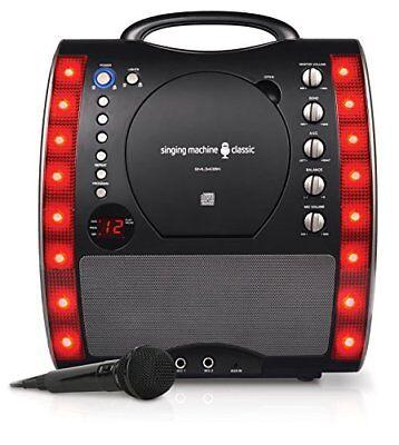 SEHR GUT: Singing Machine SML343BK Karaoke Party Packet schwarz
