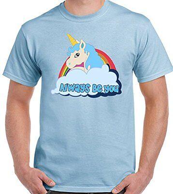 Central Intelligence   Unicorn  The Rock Dwayne Johnson Mens Funny T Shirt