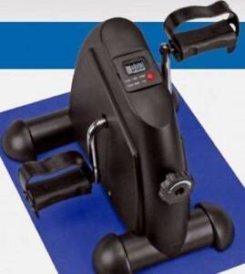 FLOOR STOCK NEW MINI PEDAL MACHINE EXERCISE (BLACK OR SILVER) Castle Hill The Hills District Preview