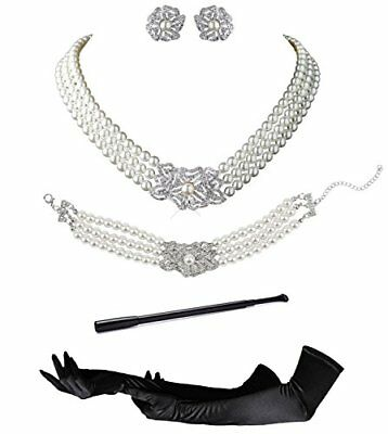 Audrey Hepburn Holly Golightly Breakfast at Tiffanys Costume Jewelry and Accesso](Audrey Hepburn Kids)