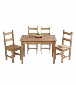 garden table and chairs for sale bristol. wax pine 5 piece dining set. garden table and chairs for sale bristol l