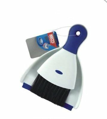 Neco Mini DustPan/Crumb Pan and Brush set Cleaning home Kitchen Tabletop Office
