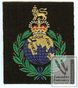 Royal Marines Blazer Badge