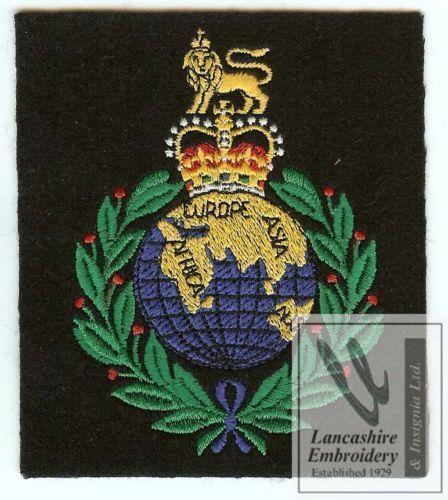 Royal Marines Blazer Badge Ebay