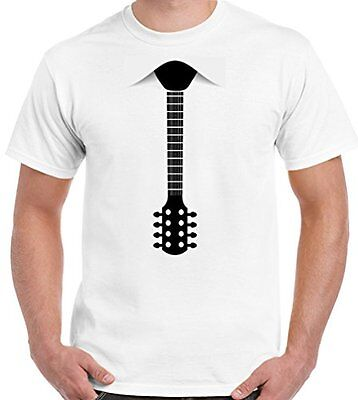 erren Lustiges T-Shirt Akustisch Elektrischer Bass Kostüm (Bass Kostüm)