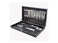 75 Piece Angel Boxed Cutlery Set for sale