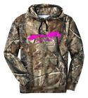 Pink Camouflage Hoodie