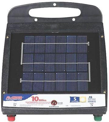 NEW RED SNAP'R ESP10M-FS SOLAR 10 MILE ELECTRIC FENCE CONTROLLER CHARGER 6976823
