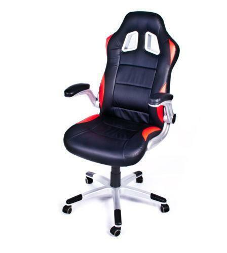Bucket Seat Office ChairGaming Office Chair   eBay. Racing Seat Office Chair Uk. Home Design Ideas