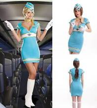 FLIGHT ATTENDANT Stewardess Hostess Costume Size M 6-8 BNWT Madora Bay Mandurah Area Preview