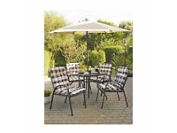 Brand new Barcelona 6 piece patio set