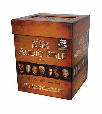 The Word of Promise Complete Audio NKJV Bible 79 CD Set OT & NT, Thomas Nelson