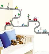 Road Wall Stickers