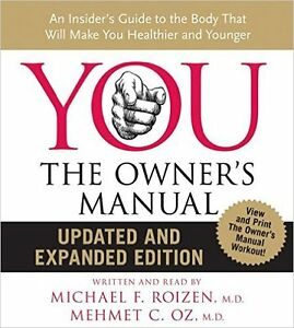 """YOU: The Owner's Manual"" CD by Dr. OZ (NEW IN FULL PACKAGING)"