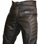 Motorcycle Leather Trousers 30