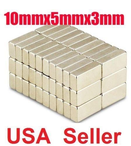 50 100 Pcs Magnets Block Cube Rare Earth Neodymium Magnet N50 N48 N52 ALL Size