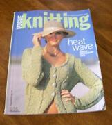 Vogue Knitting Vintage Magazine