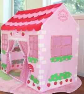 Girls Children Pink Princess Play Wendy House Outdoor Garden Tent Kids Toy
