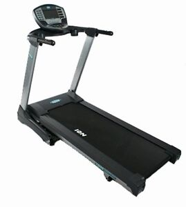 Treadmill with Built-in LCD TV Display