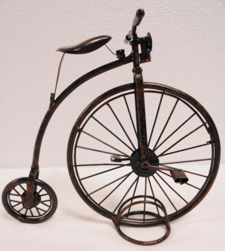 Old Fashioned Bicycle Big Front Wheel