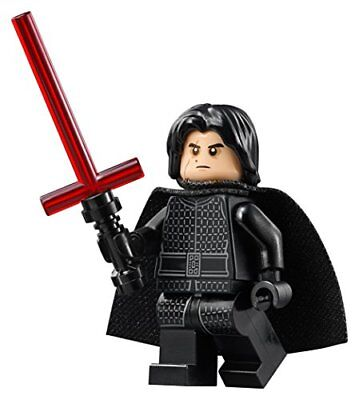 NEW KYLO REN MINIFIG LEGO Star Wars figure minifigure 75179 last jedi villain