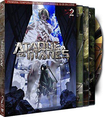 Ataque A Los Titanes - Temporada 1 Parte 2