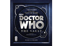 NEW 80x Doctor Who The Vault First Edition Hearn Marcus Hardcover Book JOBLOT £2400