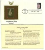 First Day Issue Gold Stamps