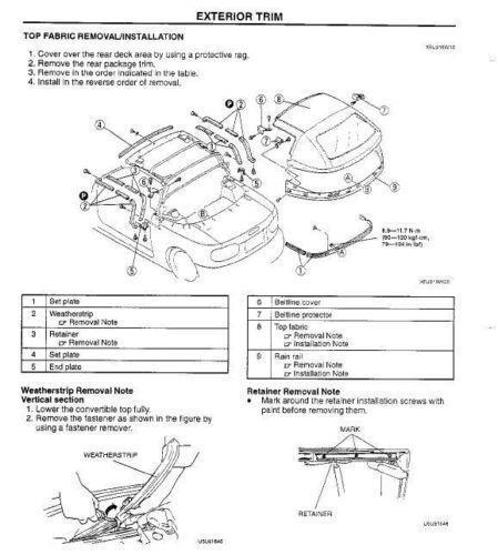 Miata Repair Manual