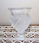 Vase Vintage Original Crystal Lalique Art Glass
